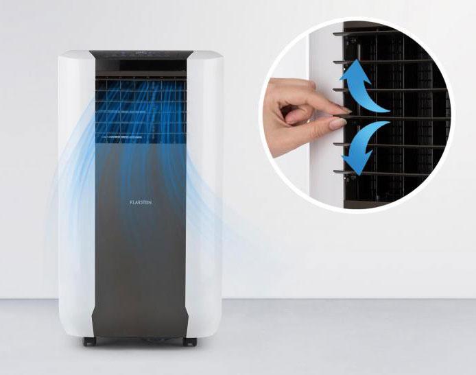 oscillation manuelle pour la ventilation