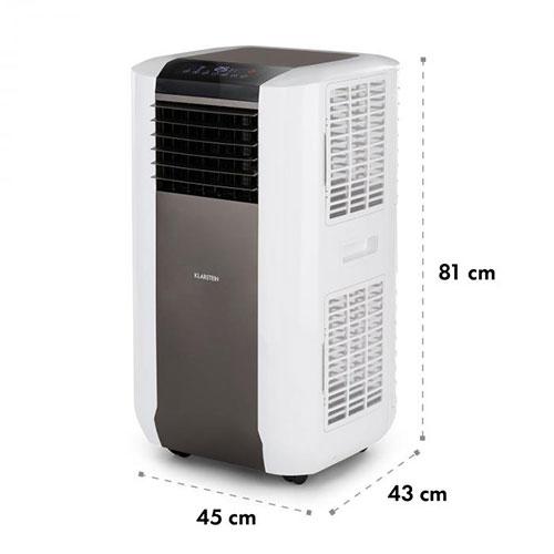 climatiseur KLARSTEIN max Breeze dimensions