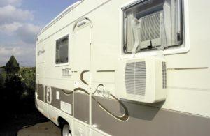 Une climatisation pour les caravanes