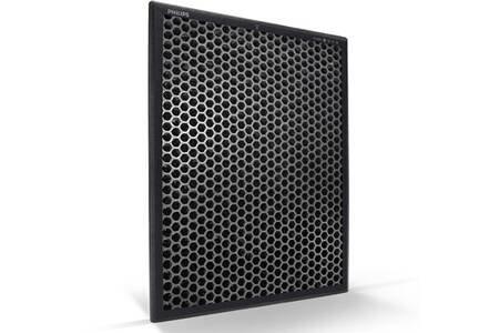 le filtre à charbon est souvent intégré dans les climatiseurs mobiles