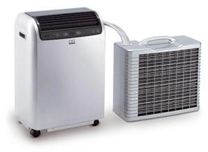 Exemple d'une climatisation split