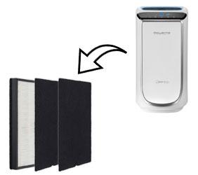 Les filtres de la marque de purificateurs d'air Rowenta